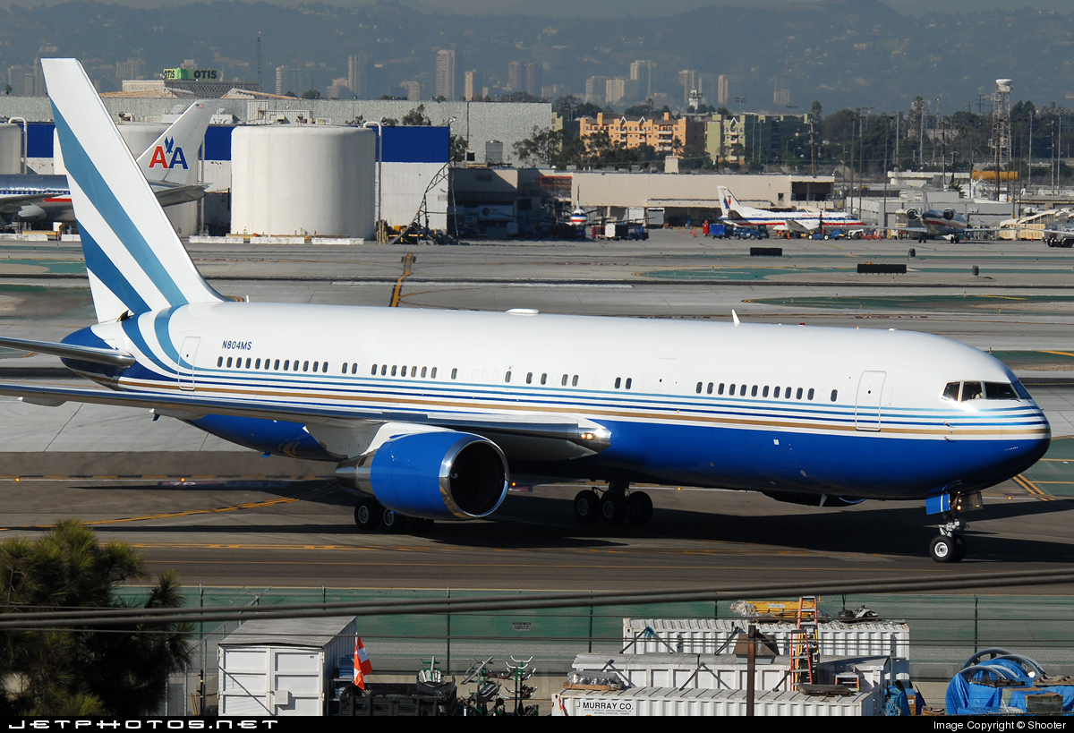 Photo of N804MS Boeing 767-3P6(ER) by PH