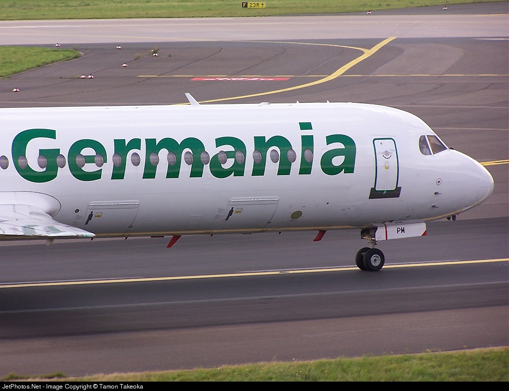 Photo of D-AGPM Fokker 100 by TT-AirTeamImages