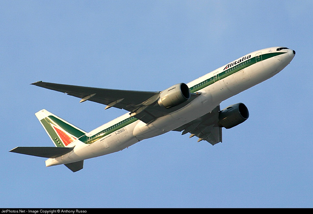 Photo of I-DISO Boeing 777-243(ER) by Anthony Russo