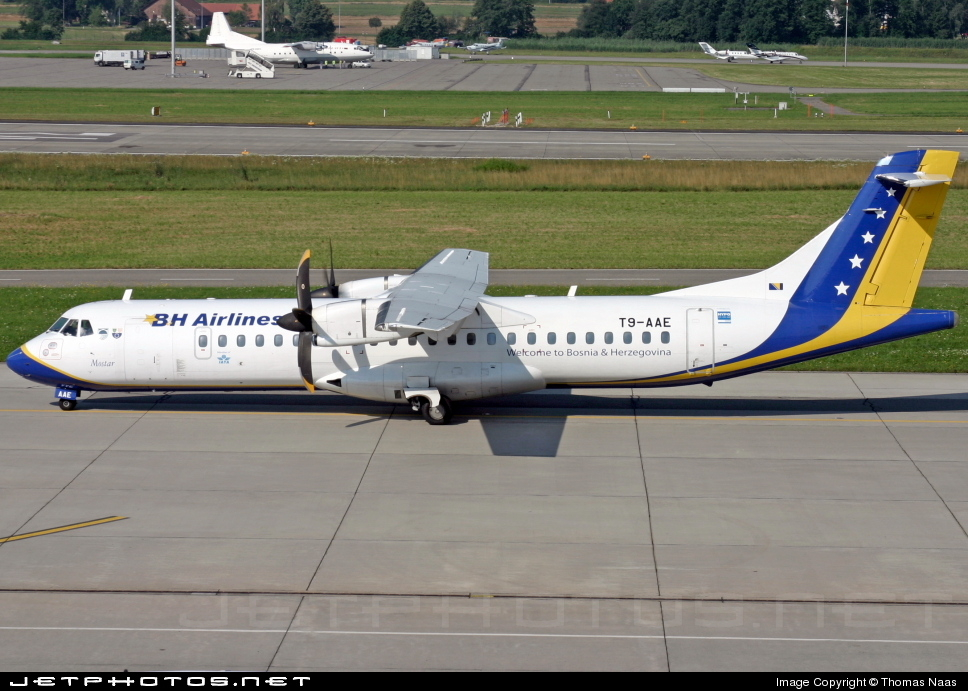 Photo of T9-AAE ATR 72-212 by Thomas Naas
