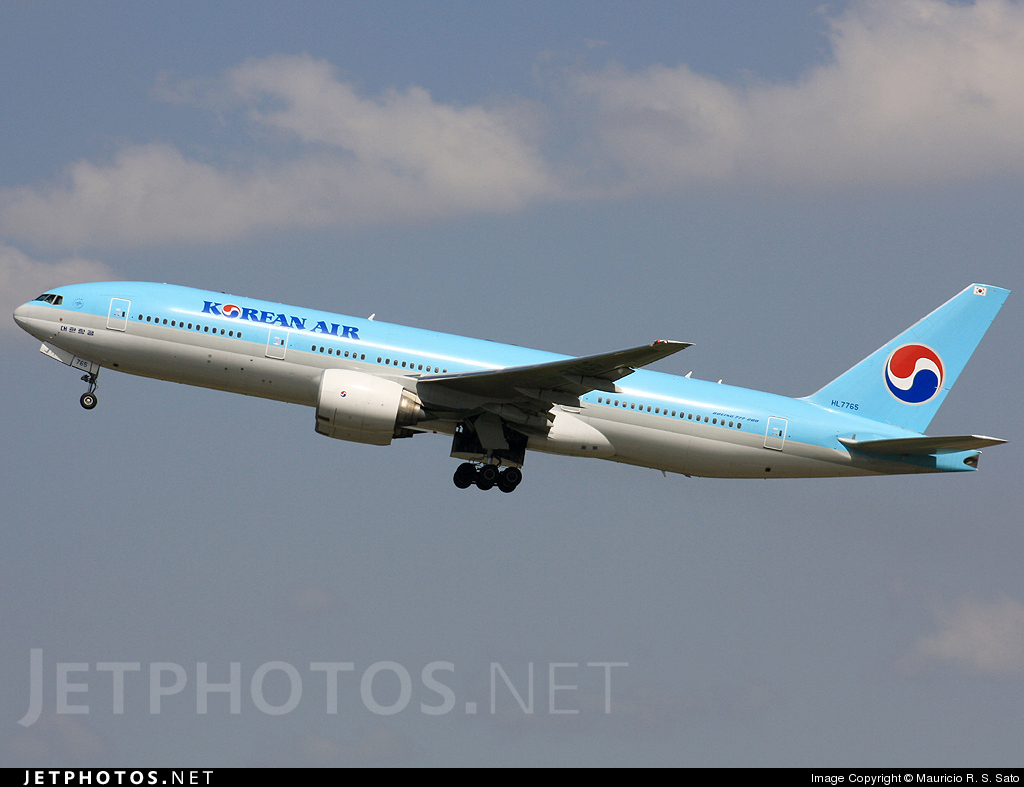 Photo of HL7765 Boeing 777-2B5(ER) by Mauricio R. S. Sato