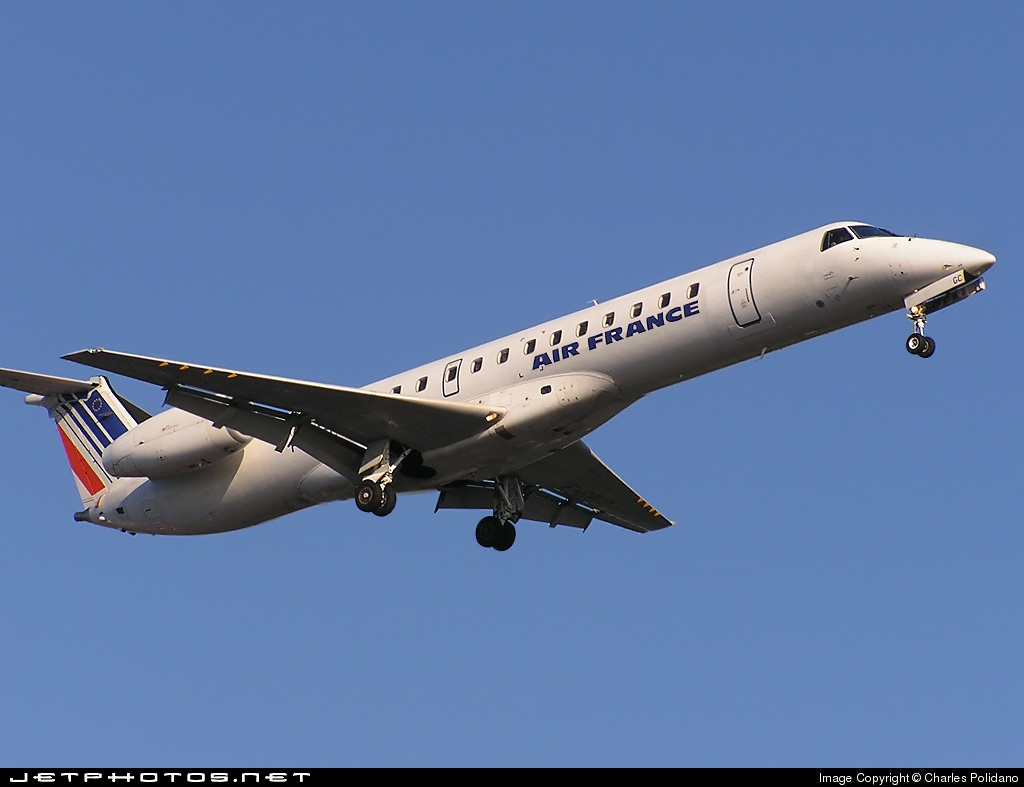 Photo of F-GRGC Embraer ERJ-145EU by Charles Polidano - Touch The Skies