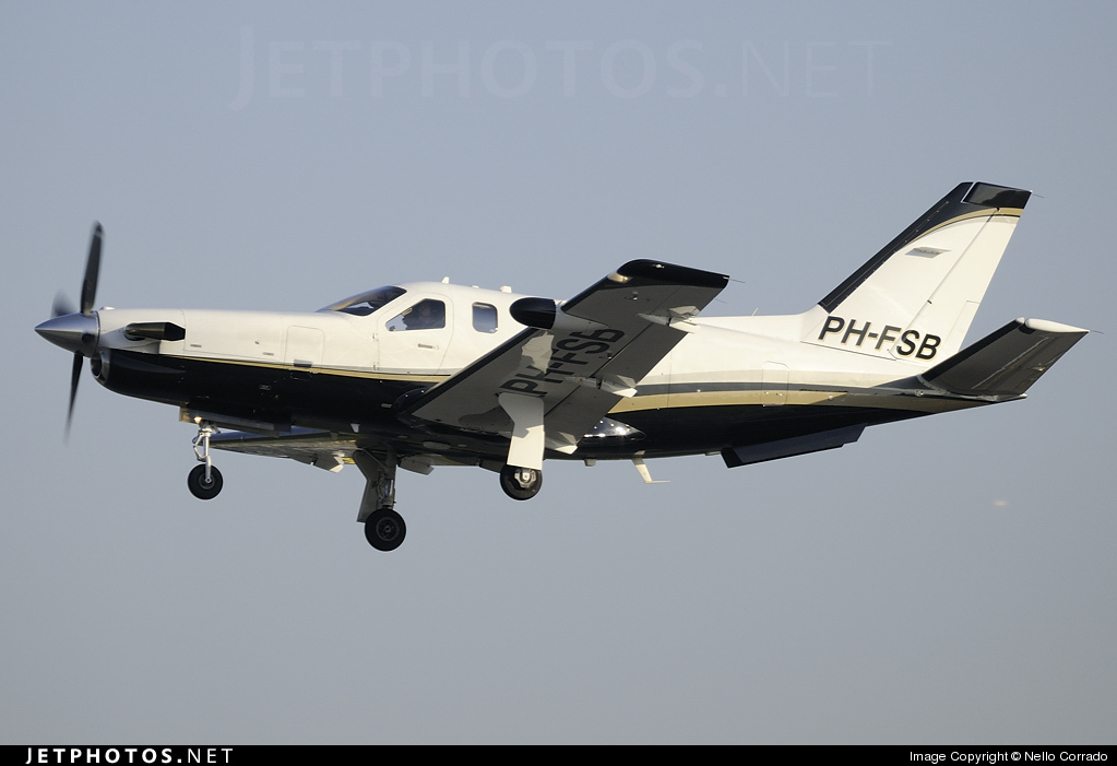 Photo of PH-FSB Socata TBM-700 by Nello Corrado