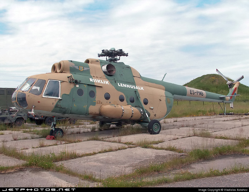 Photo of ES-PMB Mil Mi-8TB Hip by Vladislav Astahov