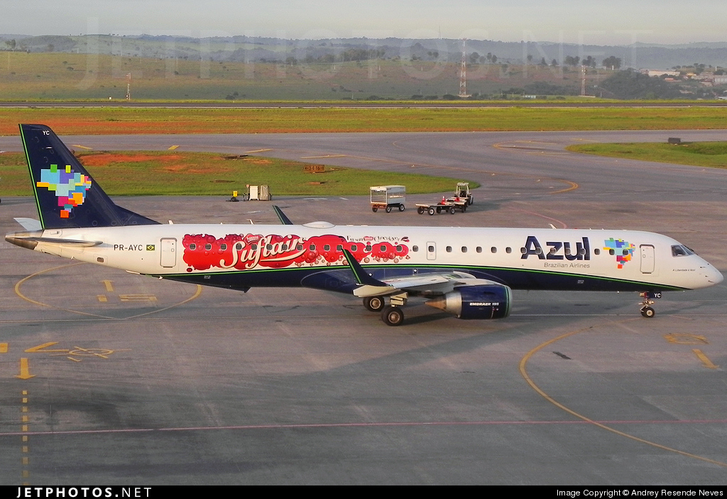 Photo of PR-AYC Embraer 190-200IGW by Andrey Resende Neves
