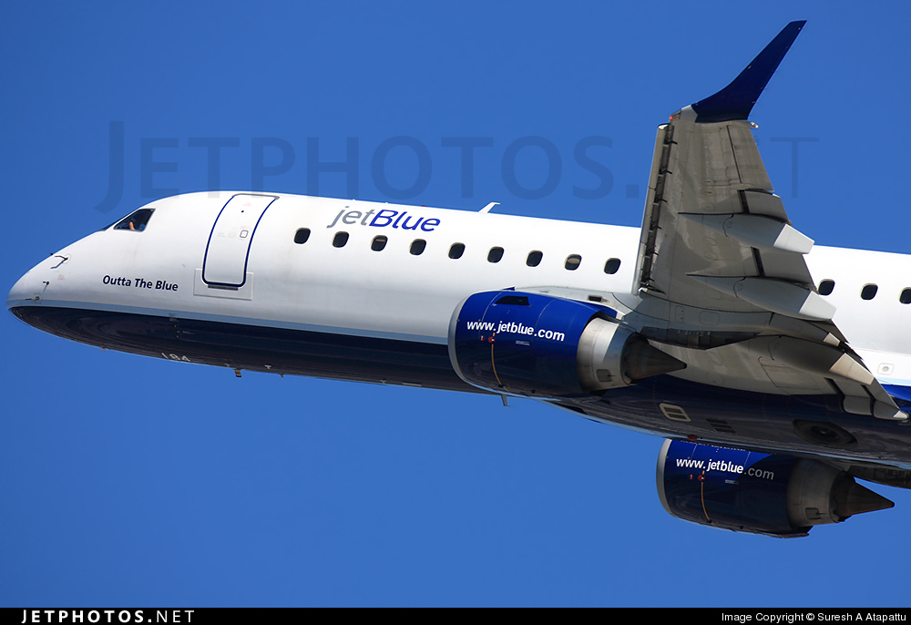 Photo of N184JB Embraer 190-100IGW by Suresh A Atapattu