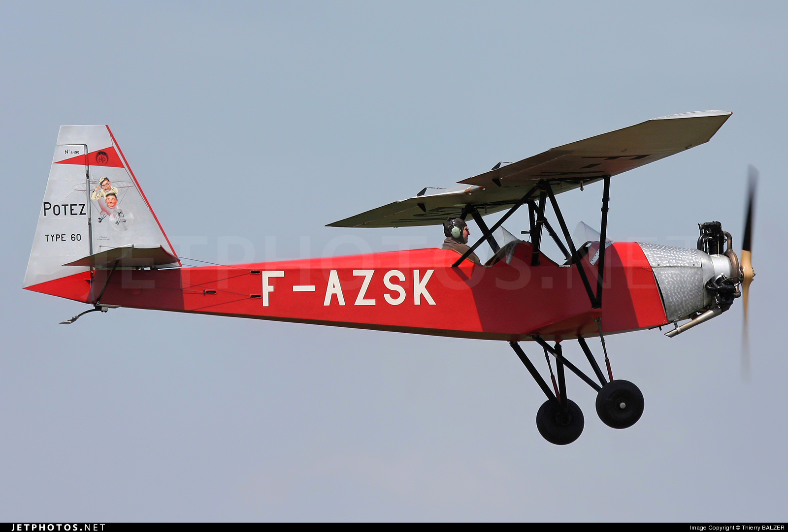 Photo of F-AZSK Potez 60 Sauterelle by Thierry BALZER