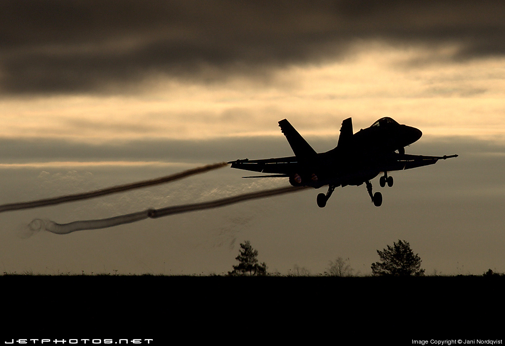 Photo of HN-420 McDonnell Douglas F-18C Hornet by Jani Nordqvist