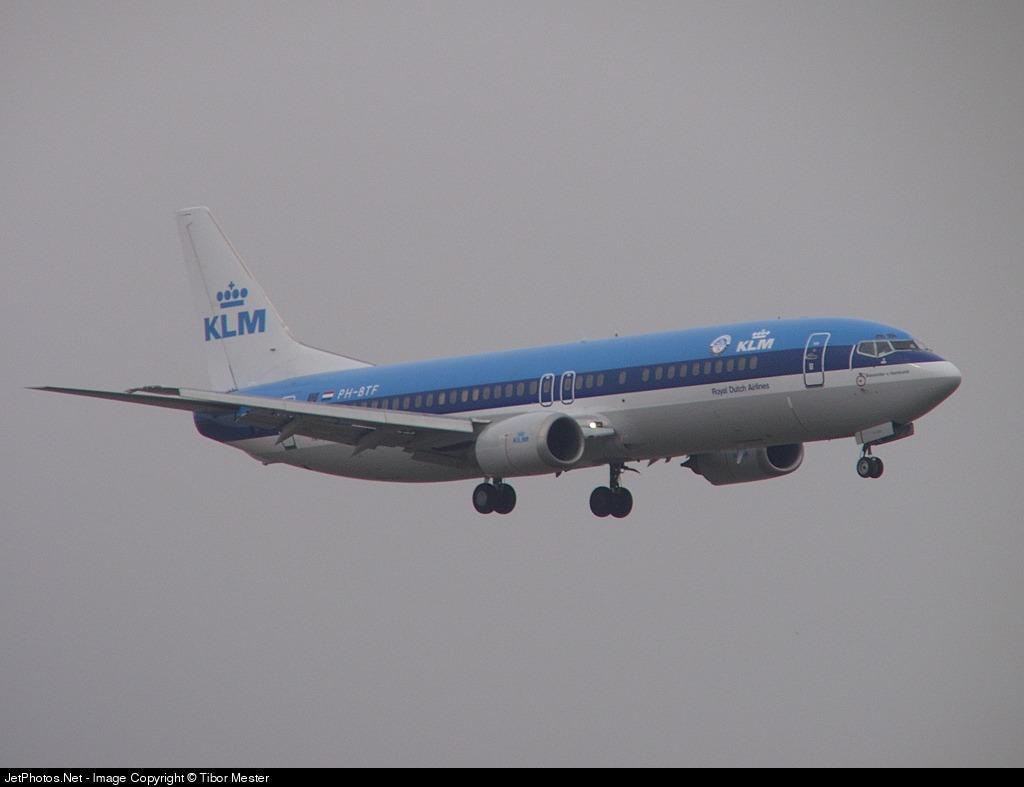 Photo of PH-BTF Boeing 737-406 by Tibor Mester