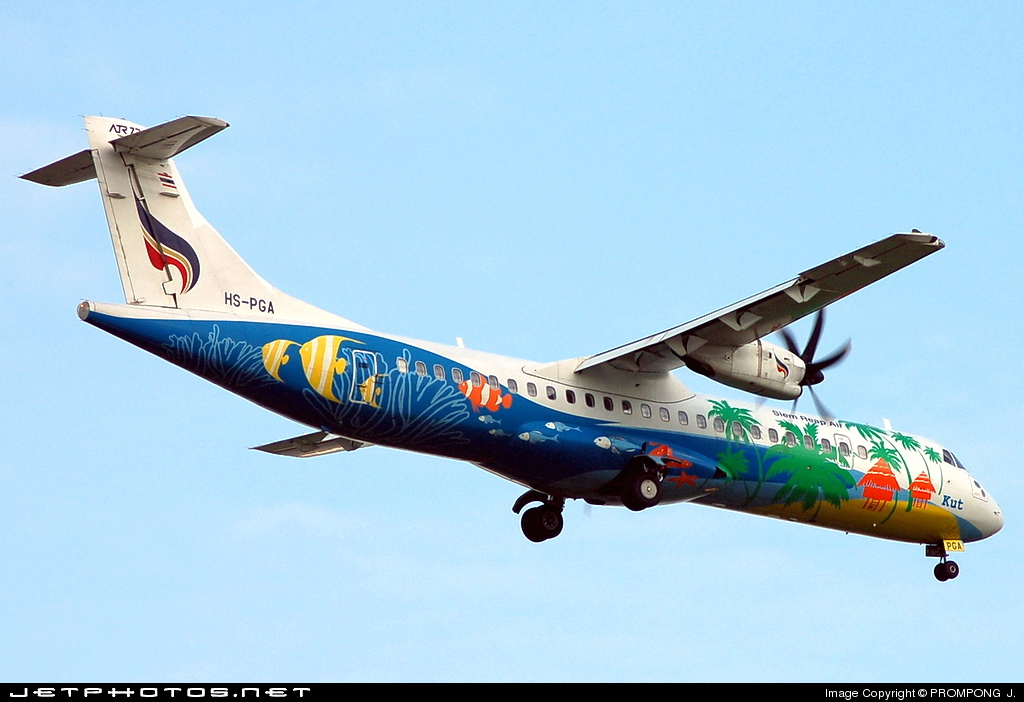 Photo of HS-PGA ATR 72-212A(500) by PROMPONG  J.