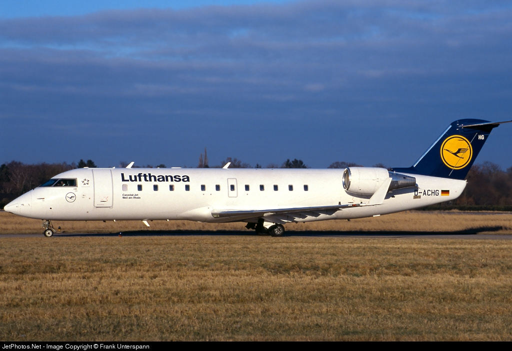 Photo of D-ACHG Bombardier CRJ-200LR by Frank Unterspann