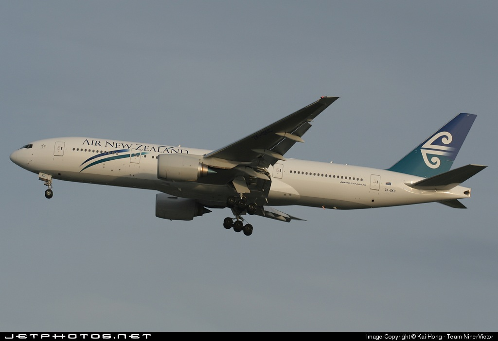 Photo of ZK-OKC Boeing 777-219(ER) by Kai Hong