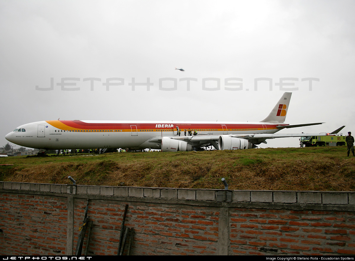 Photo of EC-JOH Airbus A340-642 by Stefano Rota - Ecuadorian Spotters