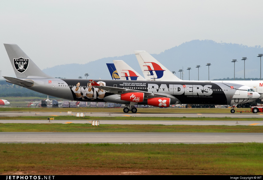 Photo of 9M-XAC Airbus A340-313X by WT