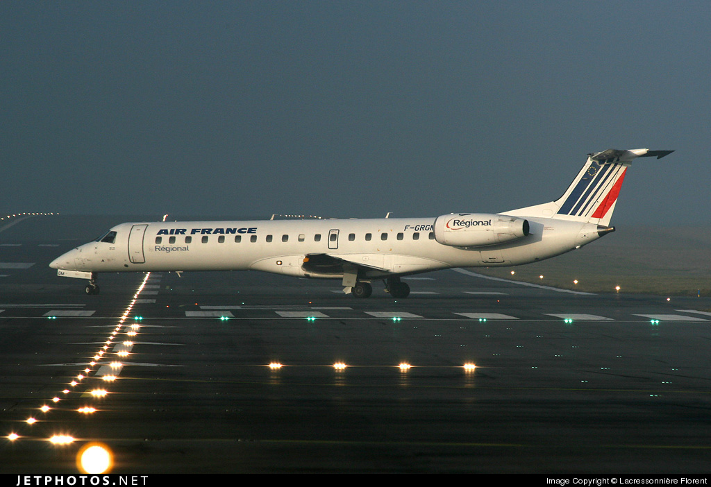 Photo of F-GRGM Embraer ERJ-145EU by Lacressonnière Florent