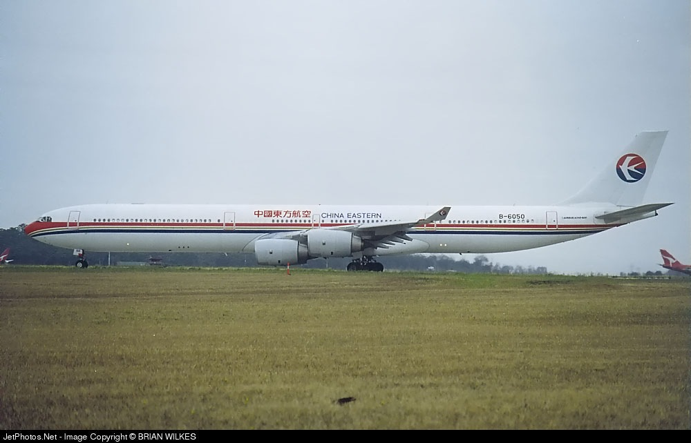 Photo of B-6050 Airbus A340-642 by BRIAN WILKES
