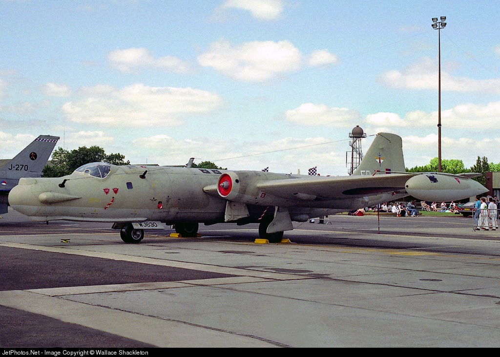 Photo of WJ630 English Electric Canberra T.17A by Wallace Shackleton