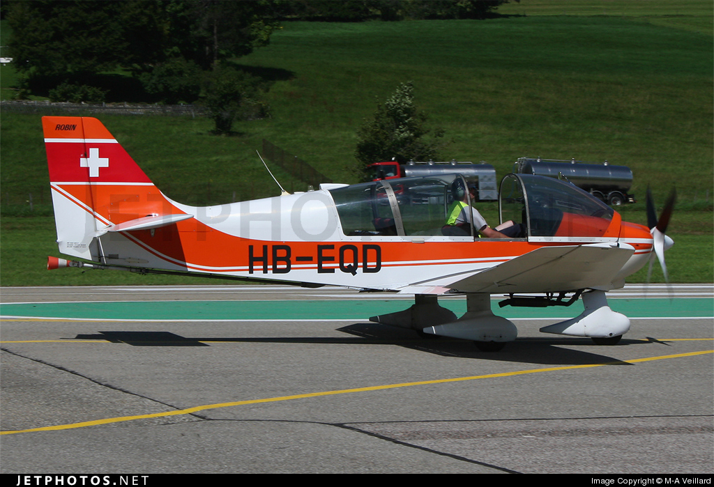 Photo of HB-EQD Robin DR400/180R Remorqueur by M-A Veillard