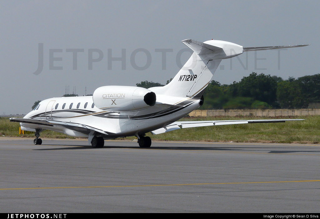 Photo of N712VP Cessna 750 Citation X by Sean D Silva