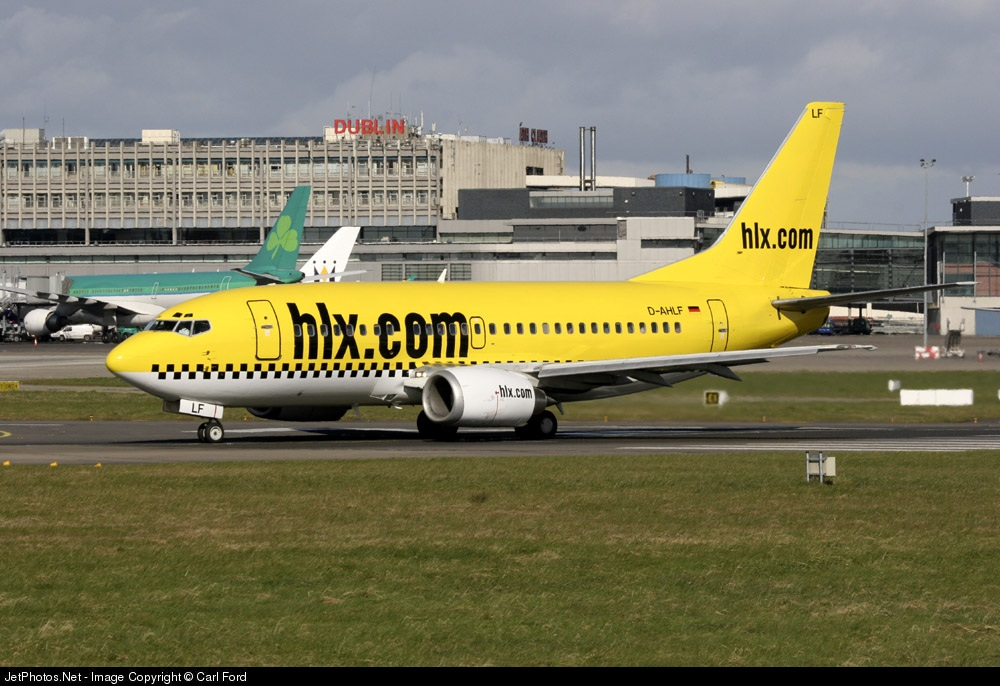 Photo of D-AHLF Boeing 737-5K5 by Carl Ford
