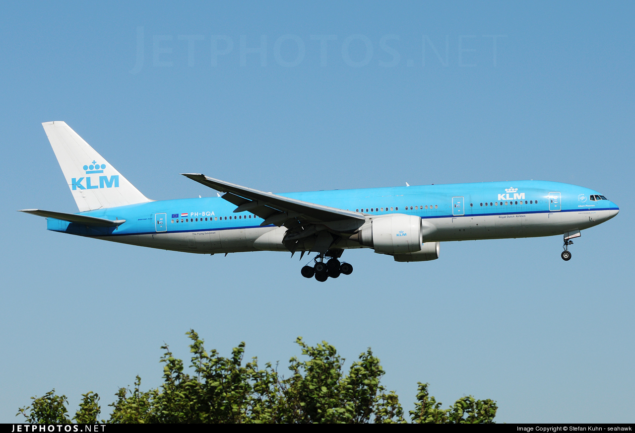Photo of PH-BQA Boeing 777-206(ER) by Stefan Kuhn - seahawk