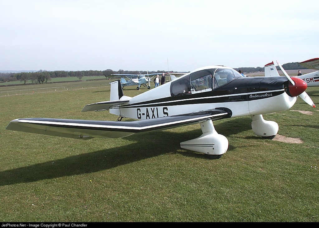 Photo of G-AXLS Jodel DR105A Ambassadeur by Paul Chandler