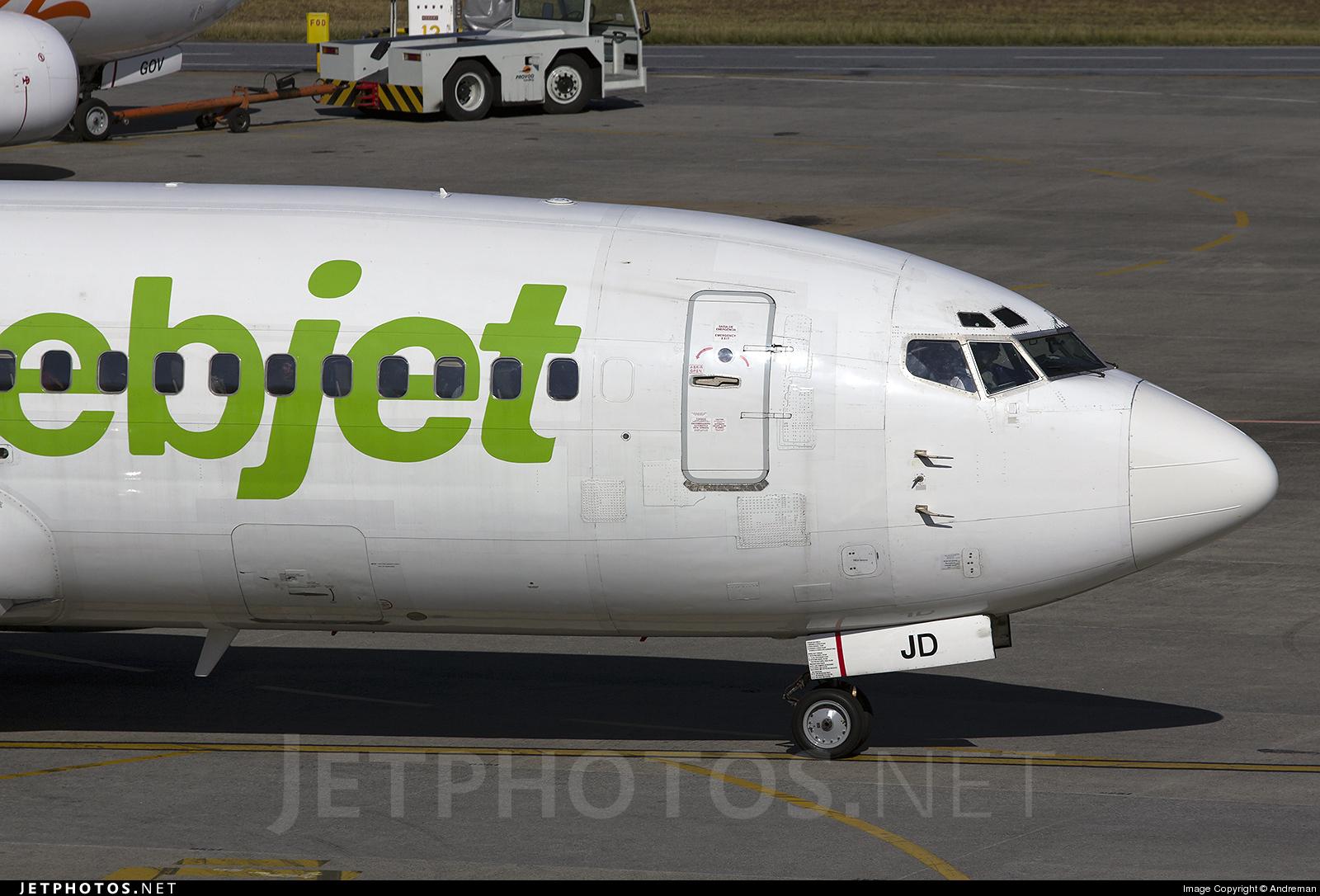Photo of PR-WJD Boeing 737-3Y0 by André Advíncula Osório