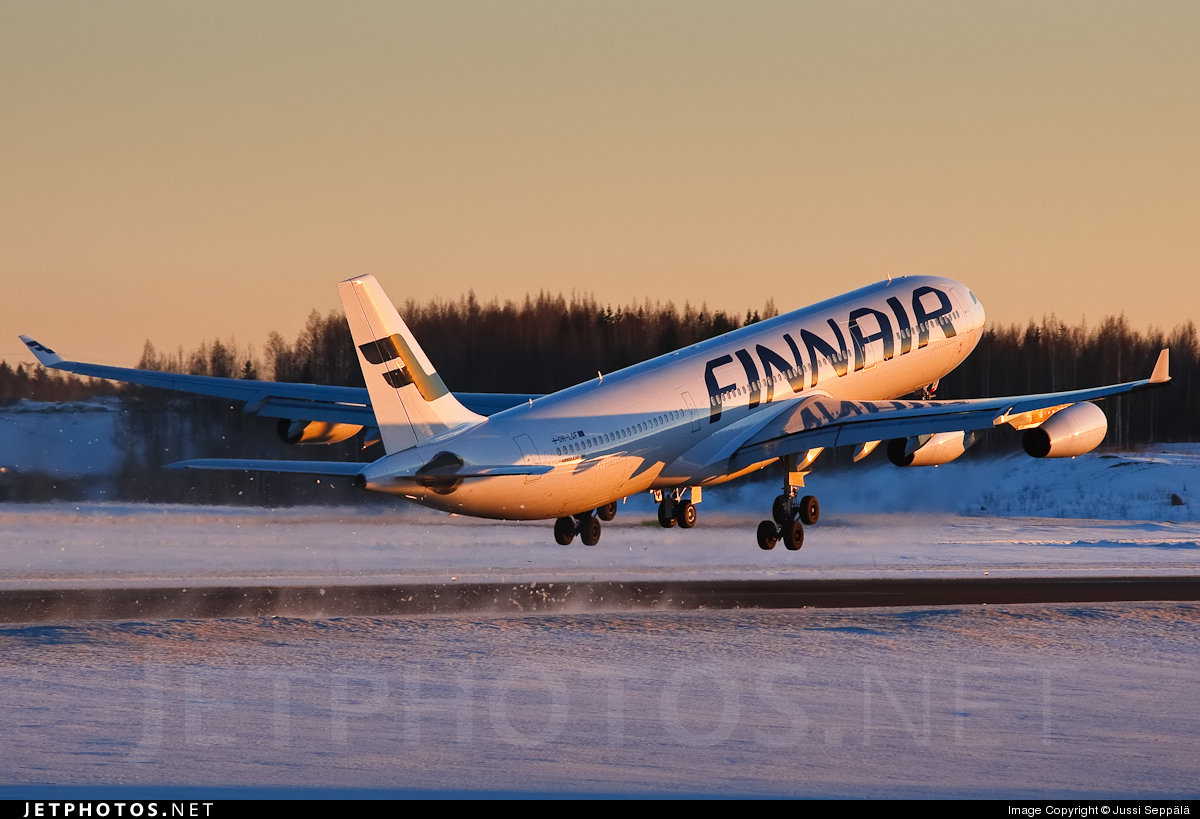 Photo of OH-LQF Airbus A340-313X by Jussi Seppälä