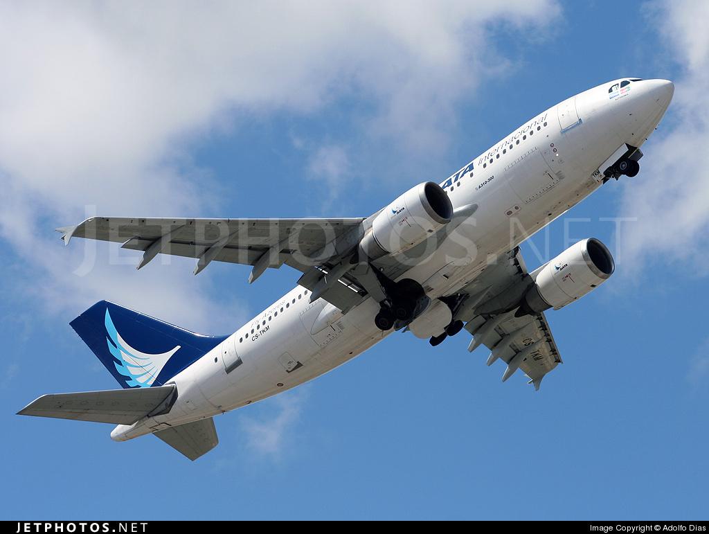 Photo of CS-TKM Airbus A310-304 by Adolfo Dias