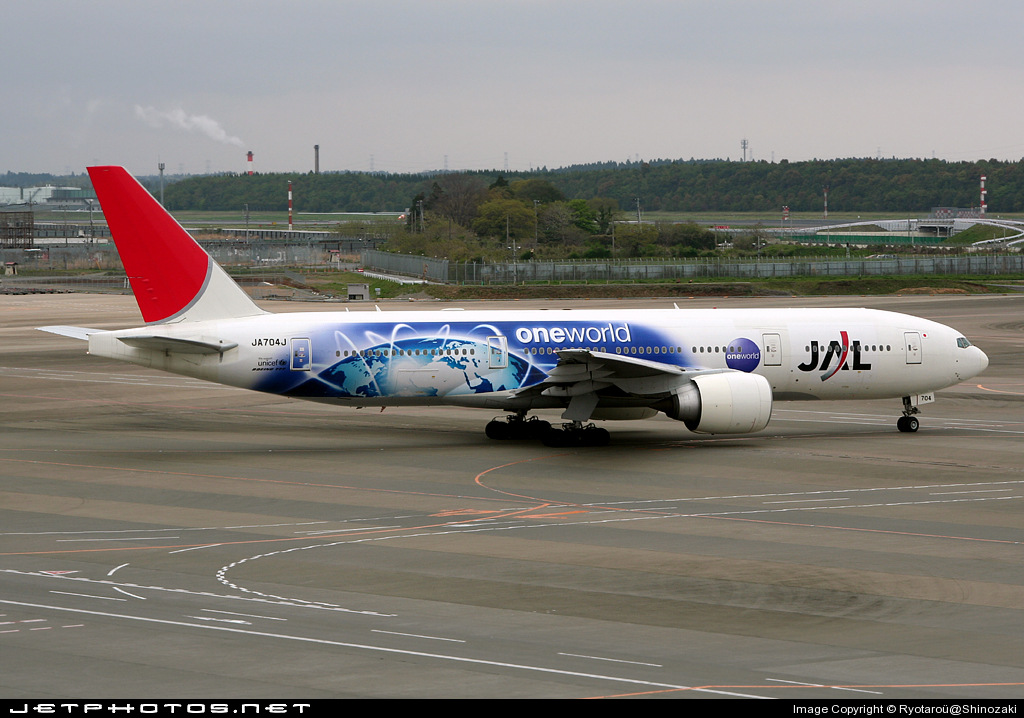 Photo of JA704J Boeing 777-246(ER) by Ryotaro@Shinozaki