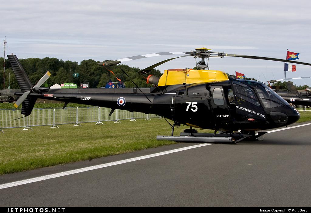 Photo of ZJ275 Aérospatiale Squirrel HT.1 by Kurt Greul