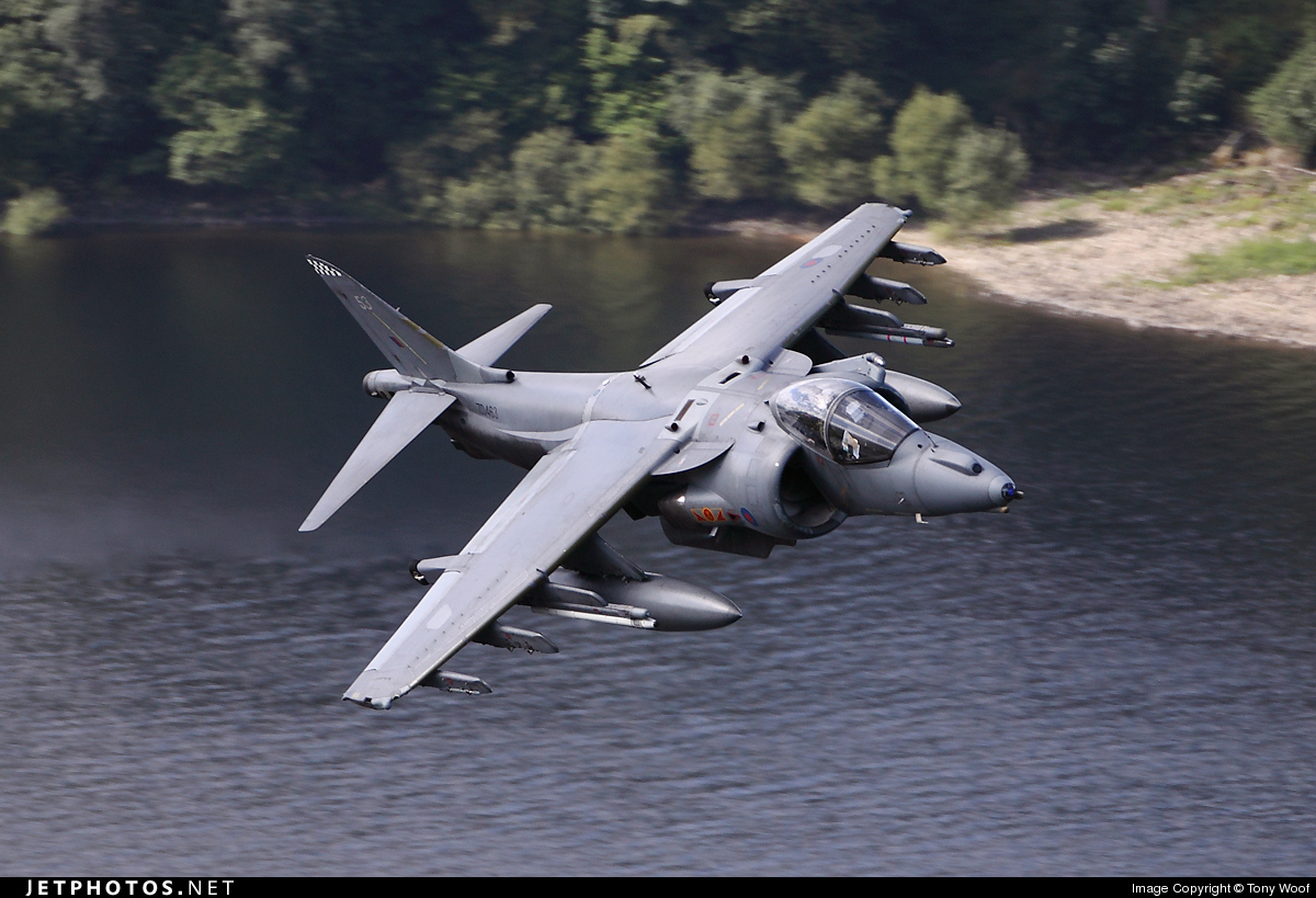 Photo of ZD463 British Aerospace Harrier GR.9 by Tony Woof