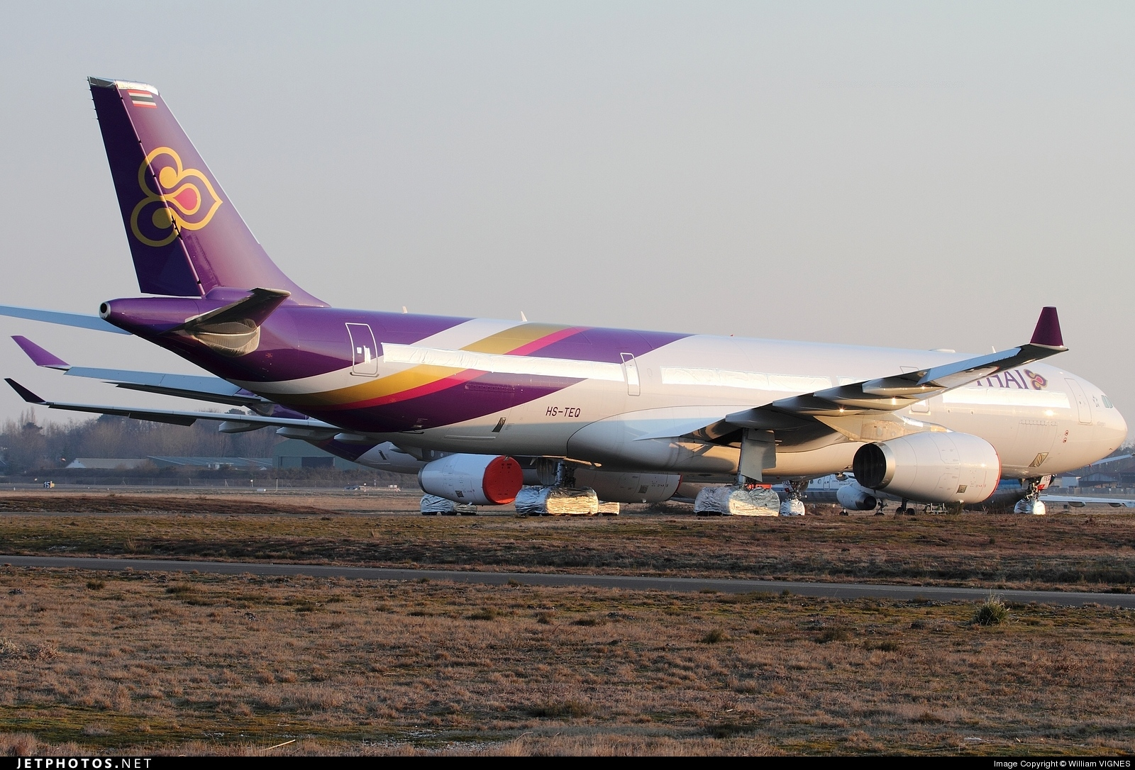 Photo of HS-TEQ Airbus A330-343 by William VIGNES