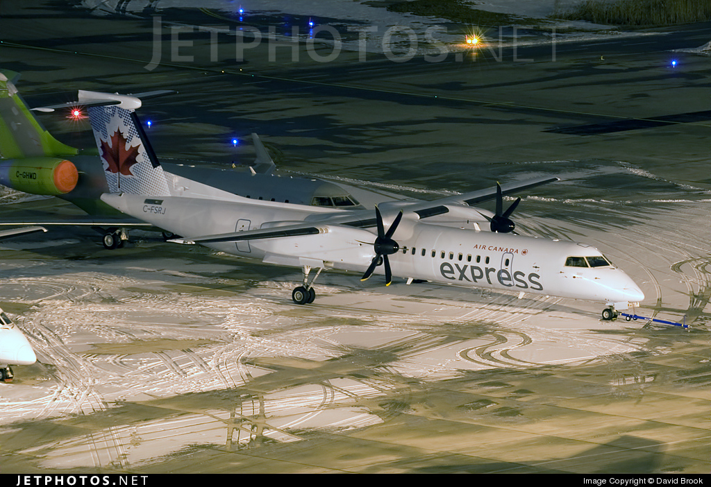 Photo of C-FSRJ Bombardier Dash 8-Q402 by David Brook