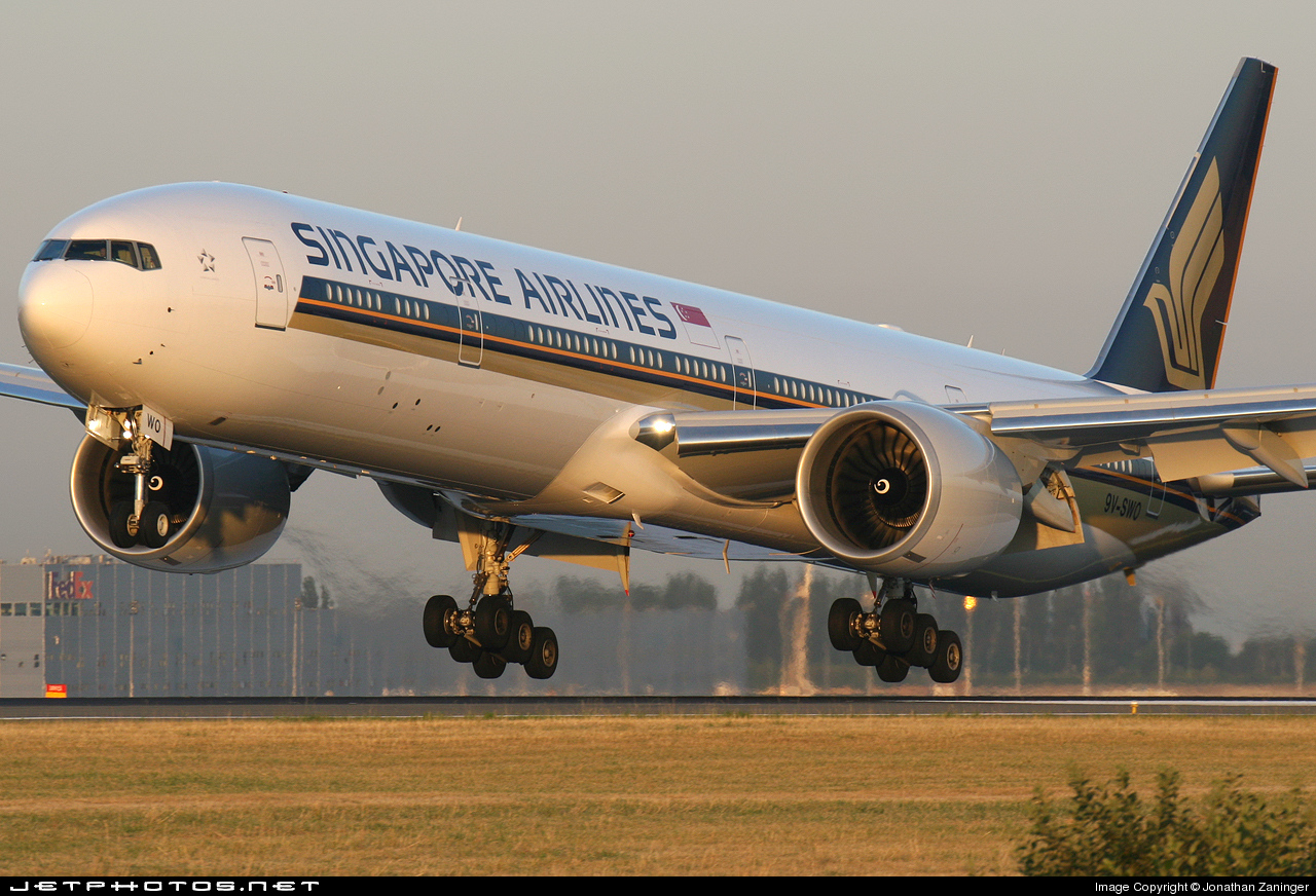 Photo of 9V-SWO Boeing 777-312ER by Jonathan Zaninger