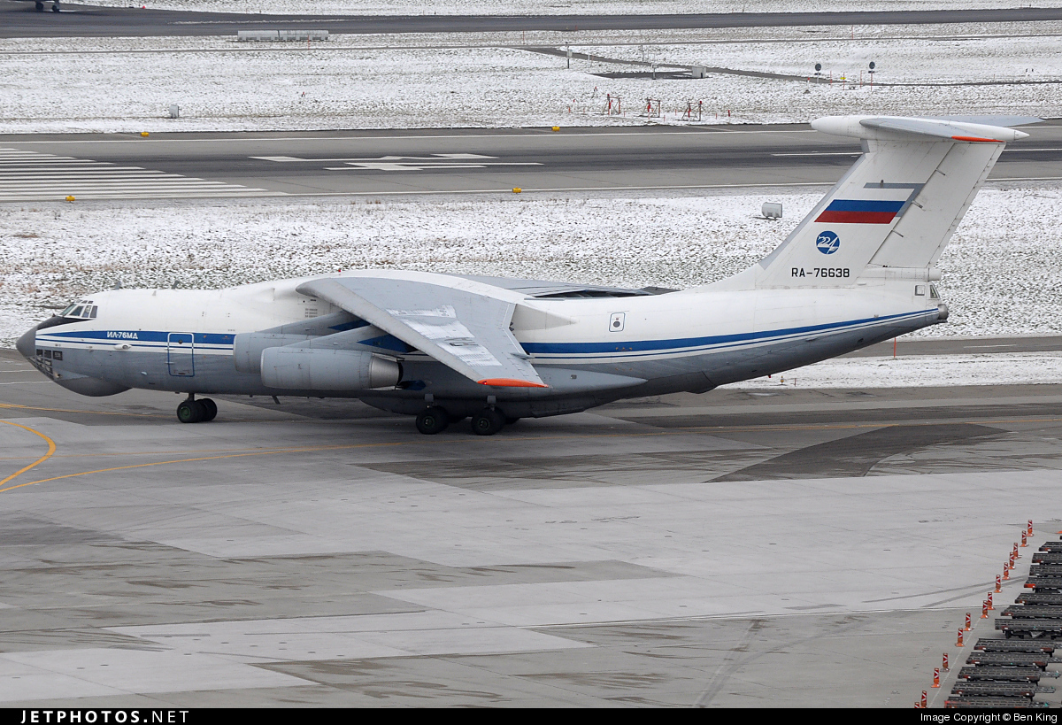 Photo of RA-76638 Ilyushin IL-76MD by Ben King