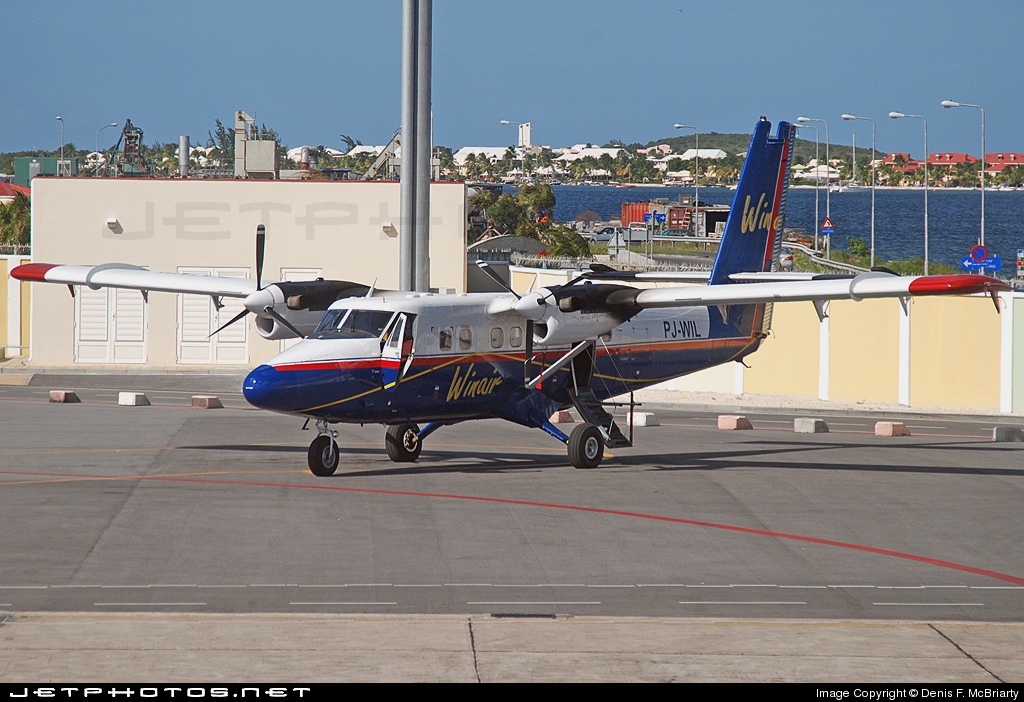 Photo of PJ-WIL De Havilland Canada DHC-6-300 Twin Otter by Denis F. McBriarty
