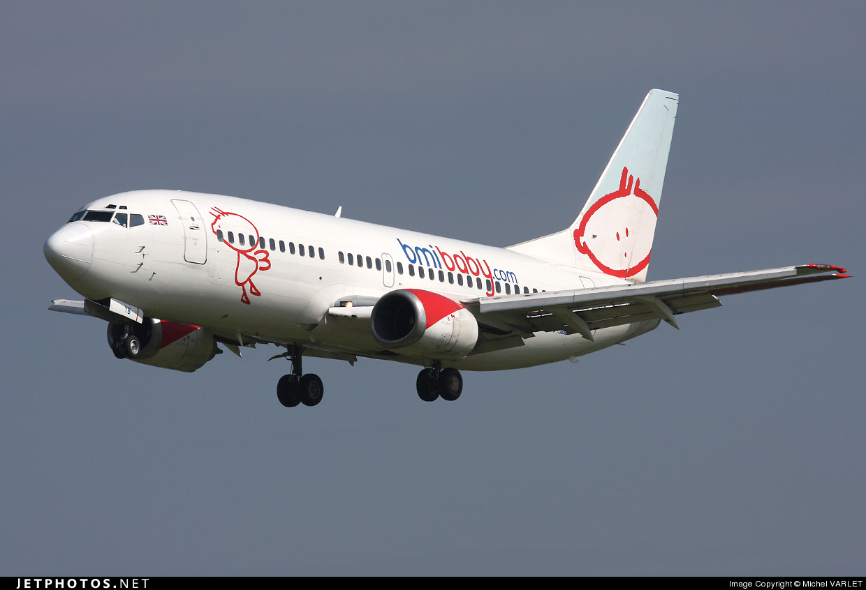 Photo of G-TOYB Boeing 737-3Q8 by Michel VARLET