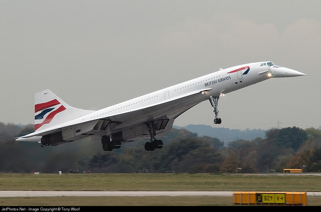 Photo of G-BOAG Aérospatiale/British Aircraft Corporation Concorde by Tony Woof