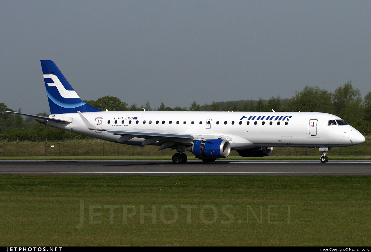 Photo of OH-LKG Embraer 190-100IGW by Nathan Long