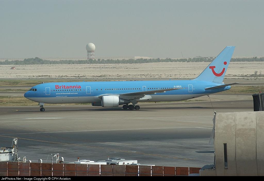 Photo of G-OBYD Boeing 767-304(ER) by Soren Madsen - CPH Aviation