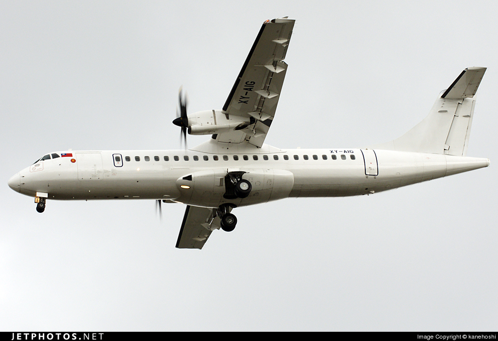 Photo of XY-AIG ATR 72-212A(500) by kanehoshi