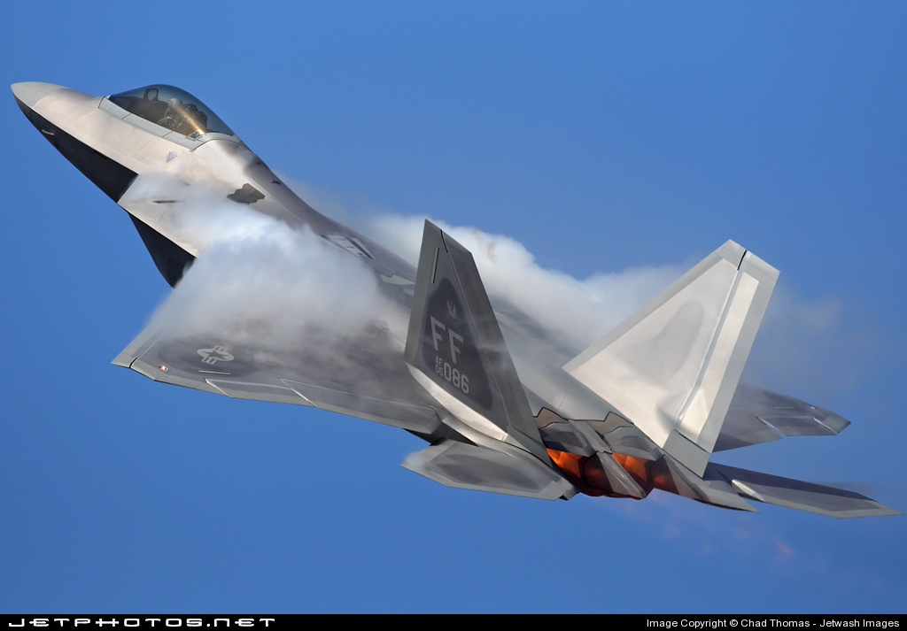Photo of 05-4086 Lockheed Martin F-22A Raptor by Chad Thomas - Jetwash Images