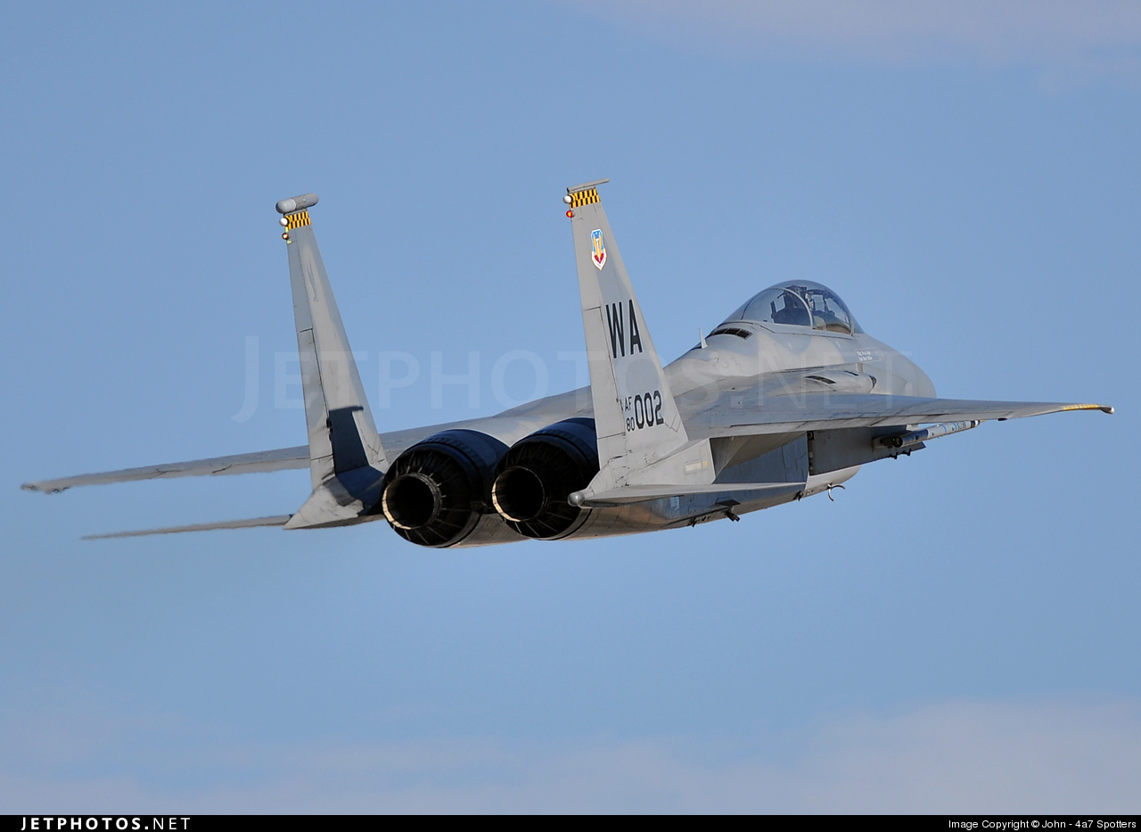 Photo of 80-0002 McDonnell Douglas F-15C Eagle by John - 4a7 Spotters