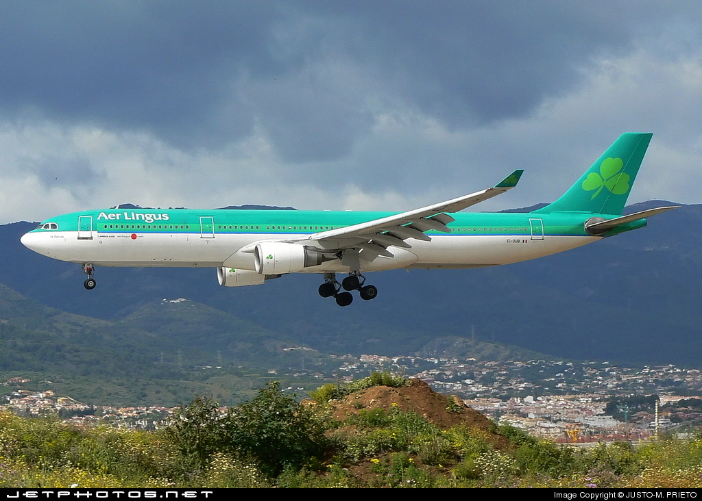 Photo of EI-DUB Airbus A330-301 by Justo-M. Prieto