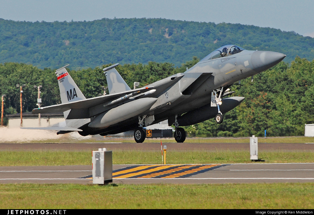 Photo of 78-0545 McDonnell Douglas F-15C Eagle by Ken Middleton