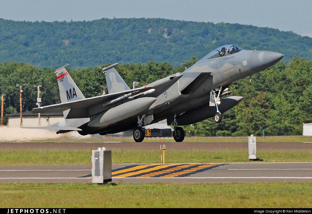 Photo of 78-0545 McDonnell Douglas F-15C Eagle by Ken Middleton