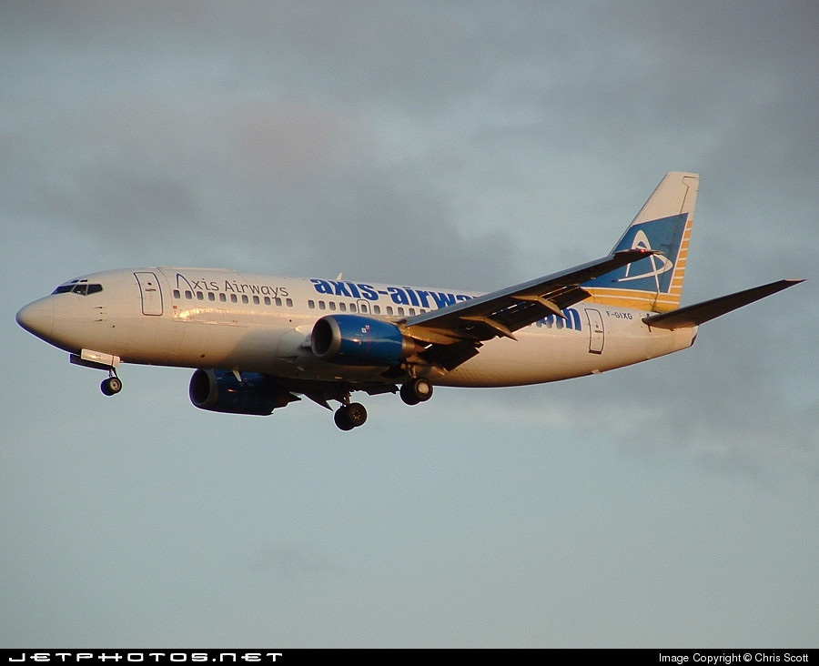 Photo of F-GIXG Boeing 737-382(QC) by Chris Scott