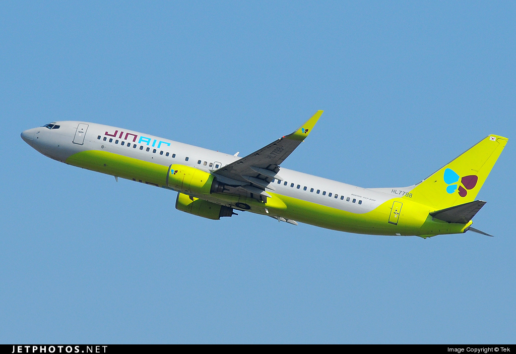 Photo of HL7798 Boeing 737-8Q8 by Tek