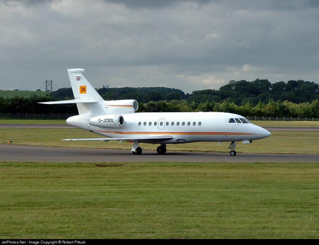 Photo of G-JCBX Dassault Falcon 900EX by Robert Pittuck